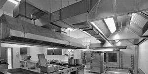 Rauchabsauganlagen in Küchen
